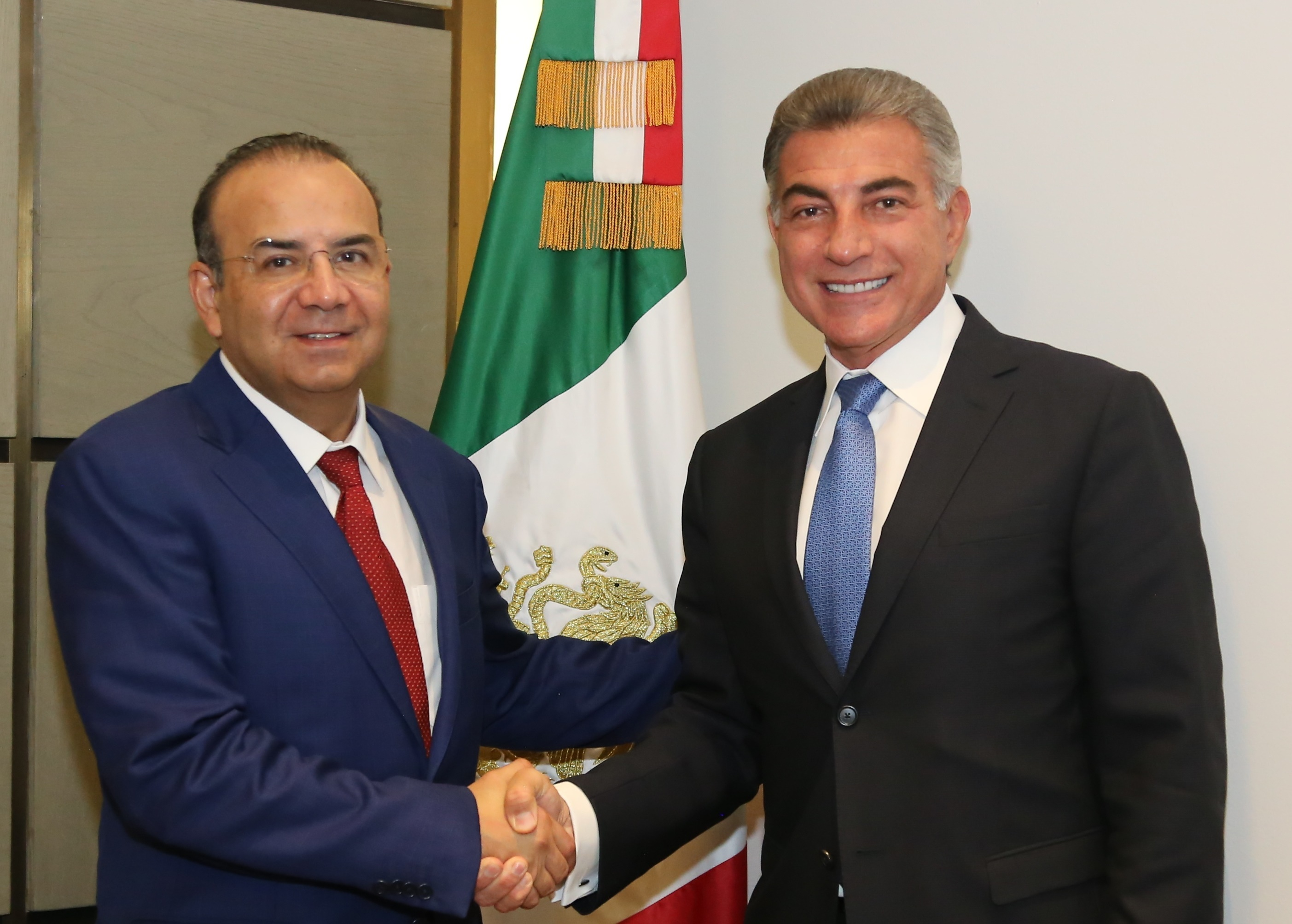 Sostienen reunión Antonio Gali y Alfonso Navarrete