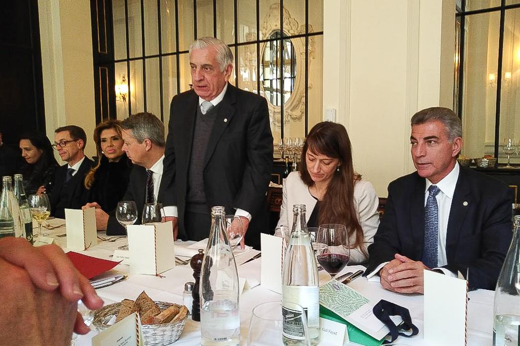 Gali se reúne con secretaria general del Consejo Federal Alemán