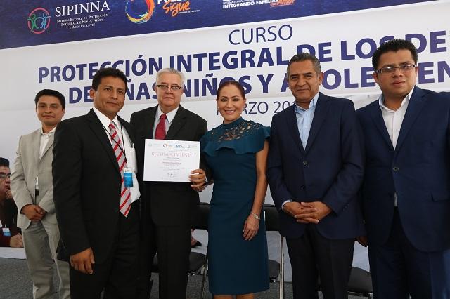 Reconocen a Puebla por proteger derechos humanos de la infancia