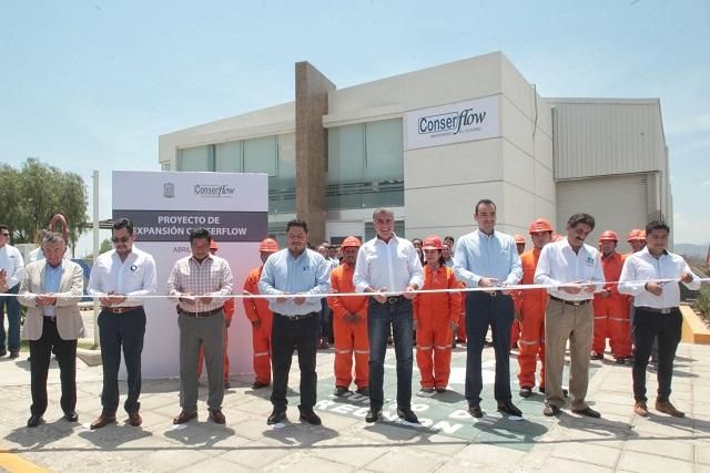 Inauguran planta de moldeo de pulpa de papel en Miahuatlán