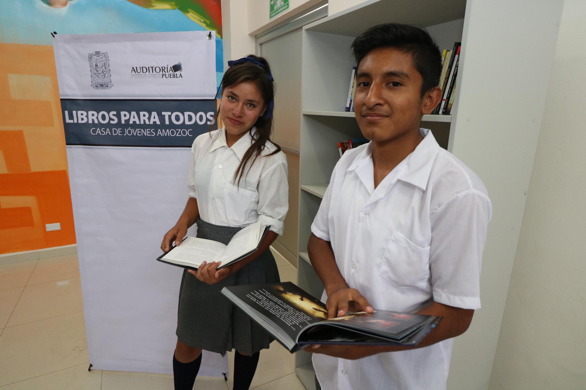 En casas Jóvenes en Progreso, el programa Libros para todos