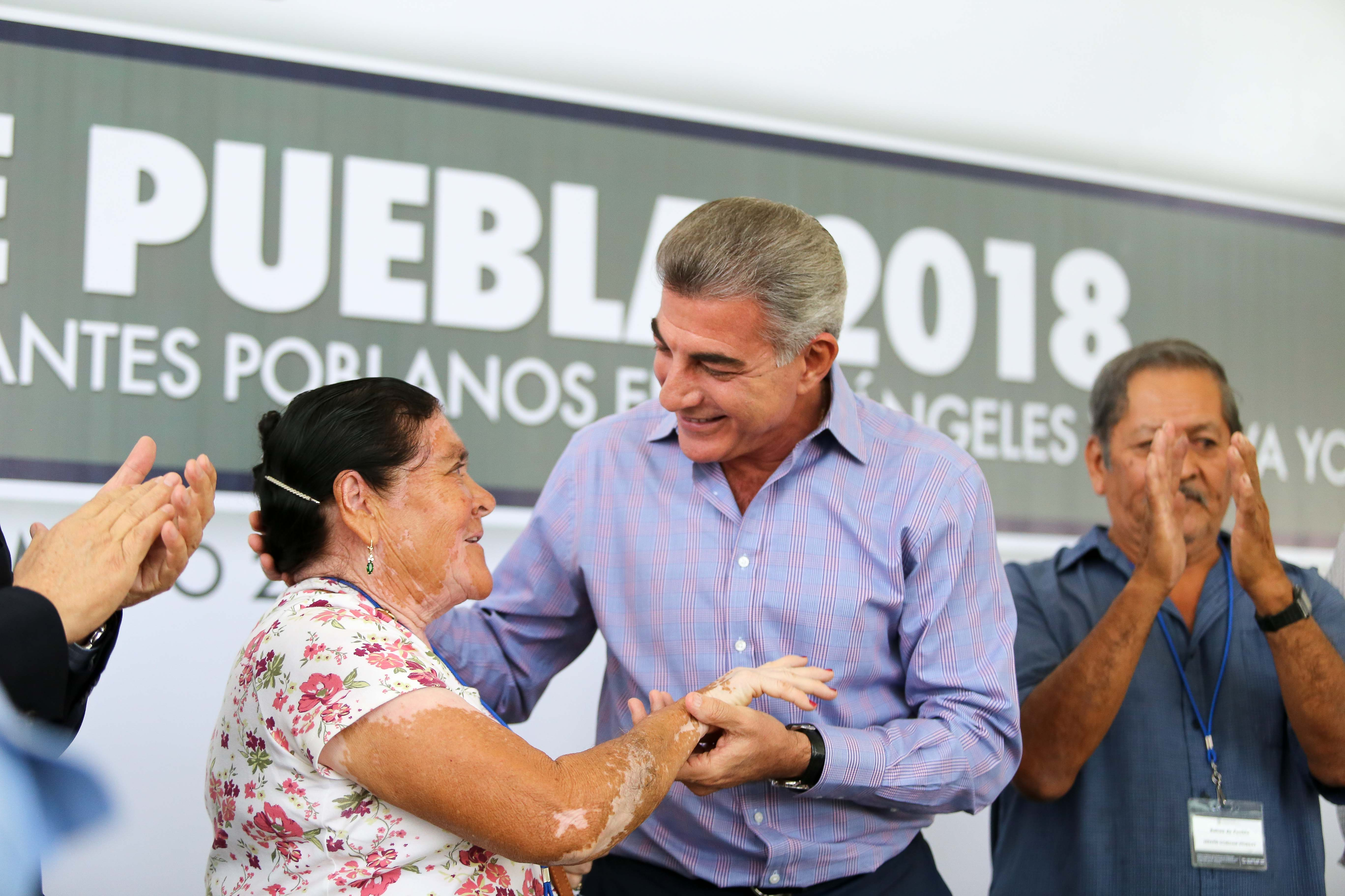 Comienza programa Raíces de Puebla para reunificar a 179 familias poblanas