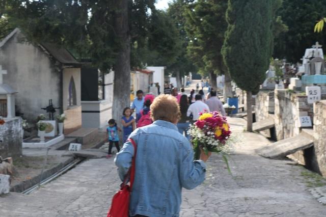 Salud estatal supervisa condiciones sanitarias en cementerios