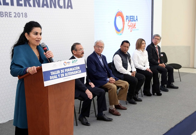 Puebla es ejemplo nacional en modelo de formación dual: SEP