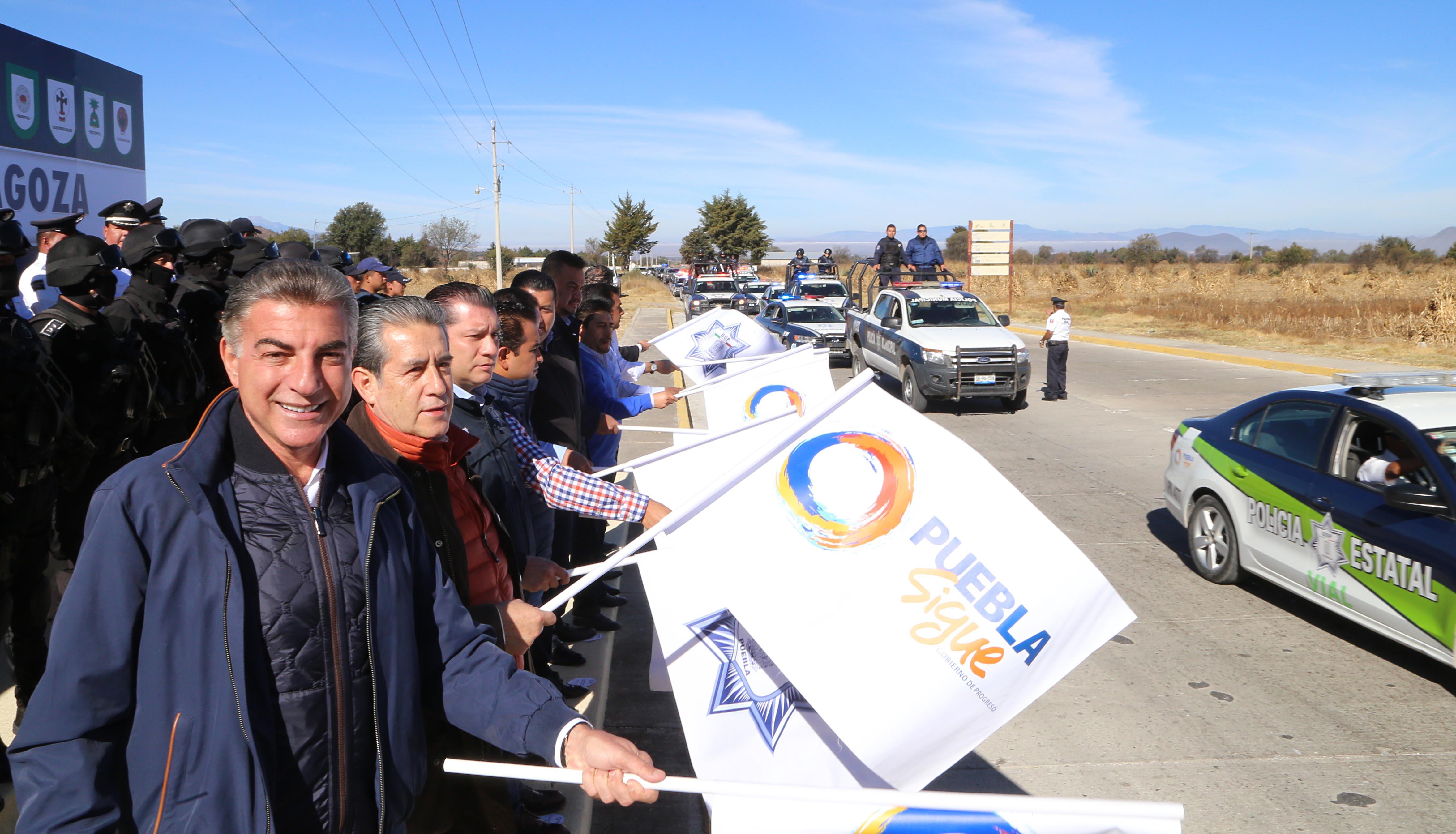 Apoyos para 8 mil productores entrega Antonio Gali en Tlachichuca