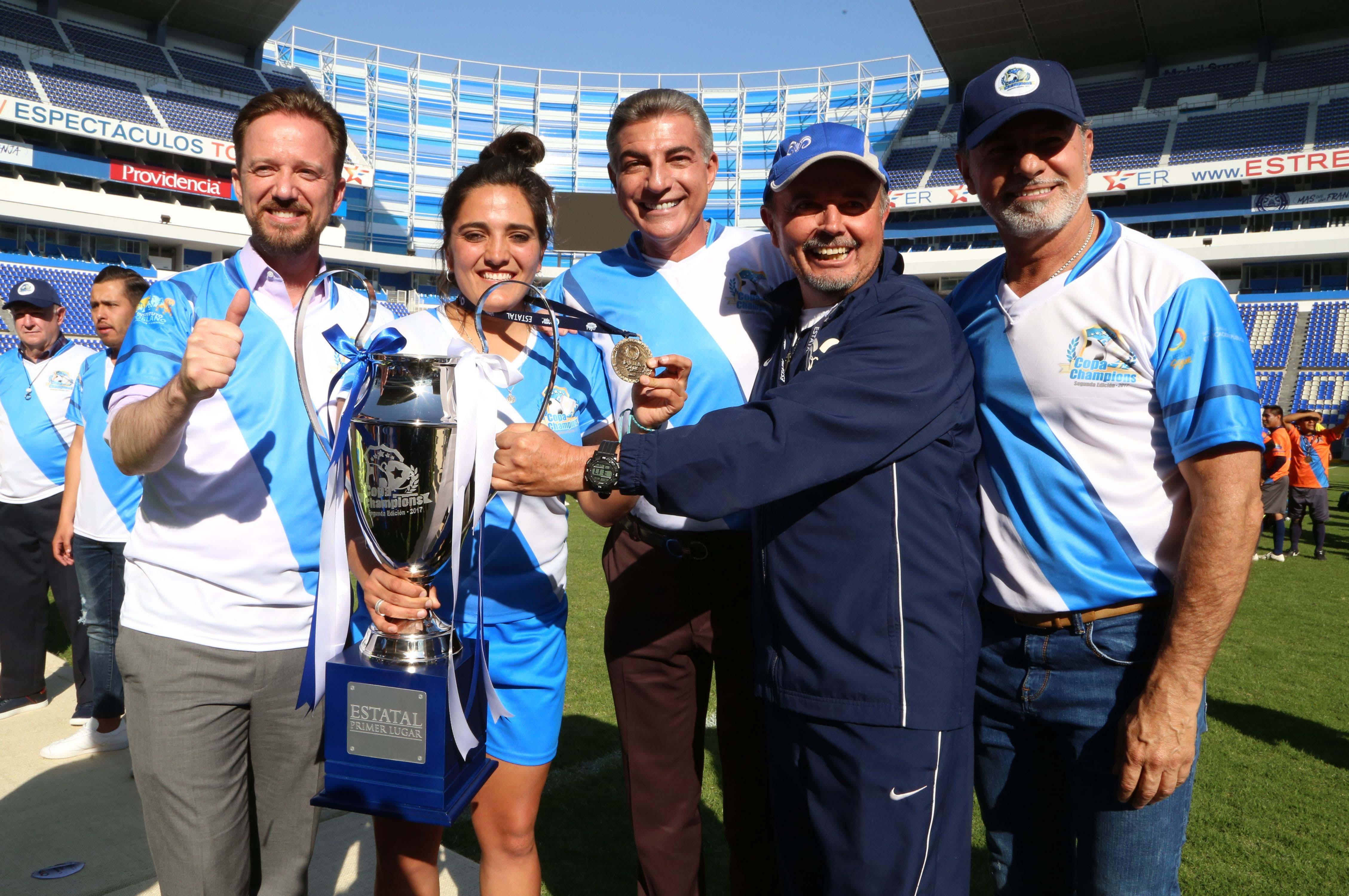 Gali clausura la Copa Champions segunda edición 2017