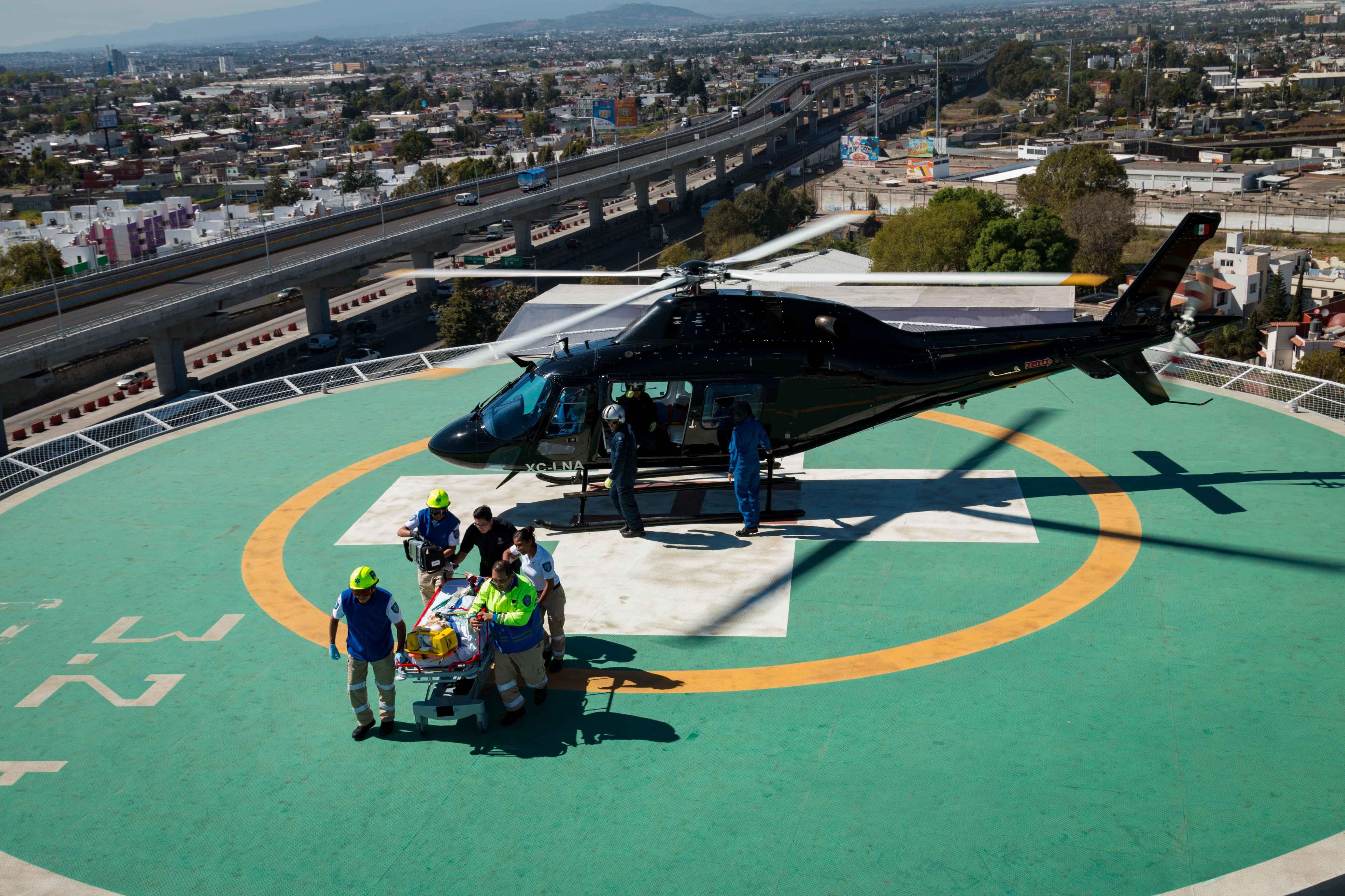 Aeronaves del gobierno estatal, para  seguridad y apoyo ciudadano