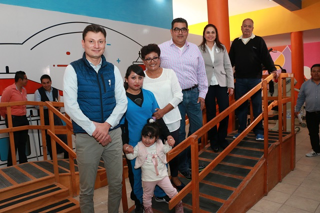Reinugura SEDIF Centro de Rehabilitación Integral (CRI) de Tepeaca
