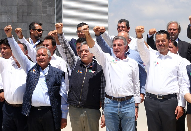 Presenta Gali el balance de la reconstrucción en Puebla