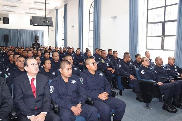 Se suman a las filas de la Policía Estatal 52 nuevos elementos