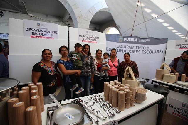 DIF estatal celebra Primera Feria Regional de servicios, en la Mixteca
