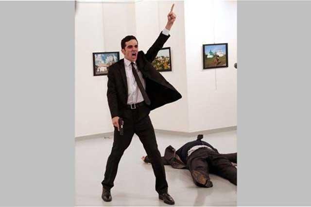 Foto del asesino del embajador ruso gana el premio World Press Photo