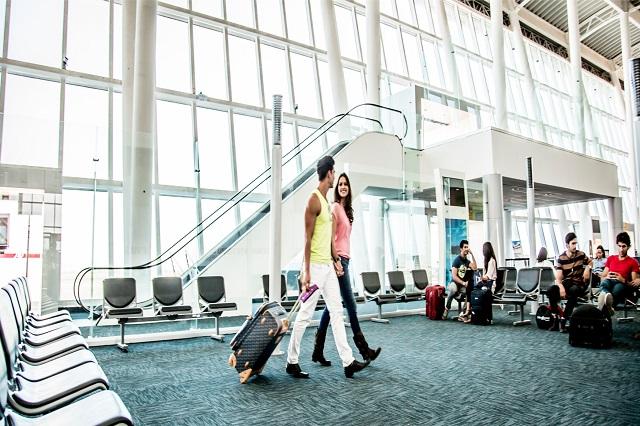 Crece 30% llegada de pasajeros al aeropuerto Hermanos Serdán