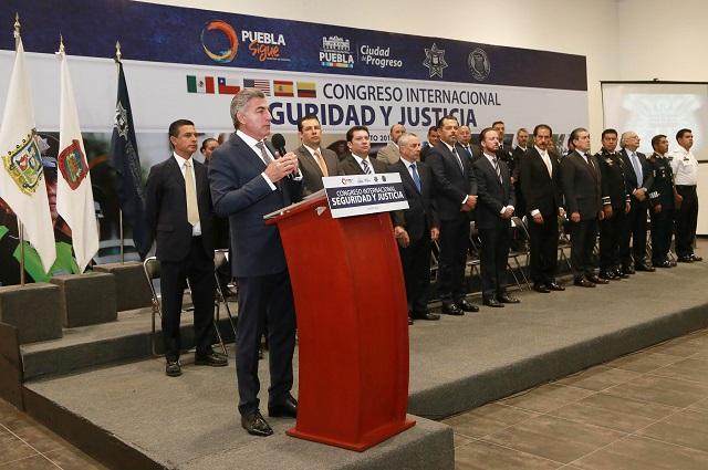 Inaugura Gali Congreso Internacional de Seguridad y Justicia