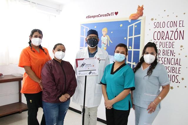 Videollamadas en Issstep ayudan a pacientes de Covid y familias