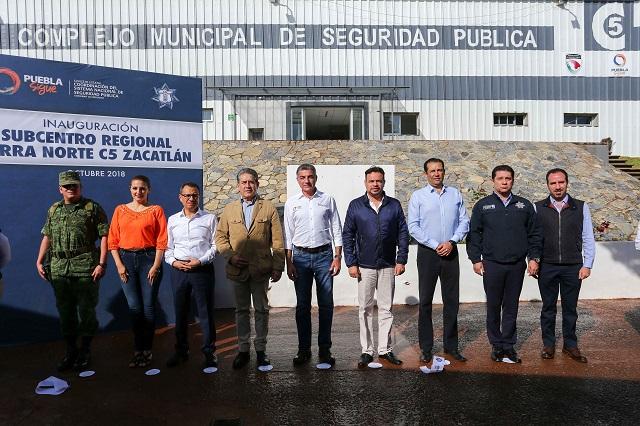 Inaugura Gali subcentro regional C5 en Zacatlán, con inversión de 8 mdp