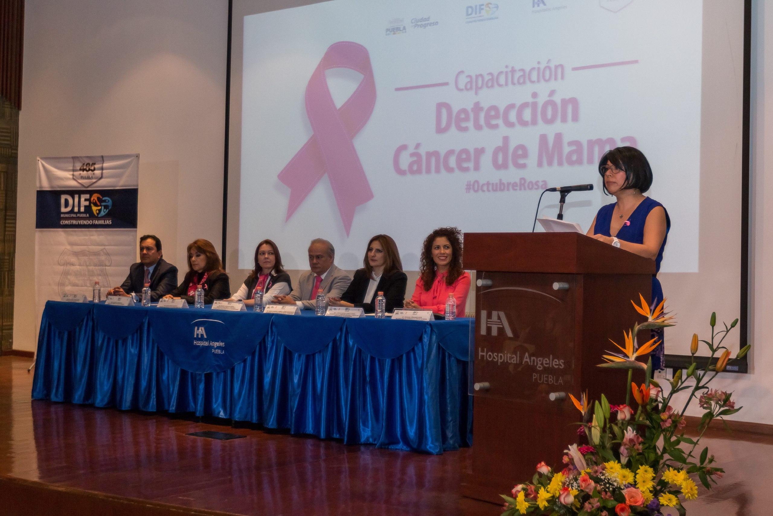Promueve Ayuntamiento de Puebla prevención de Cáncer de Mama