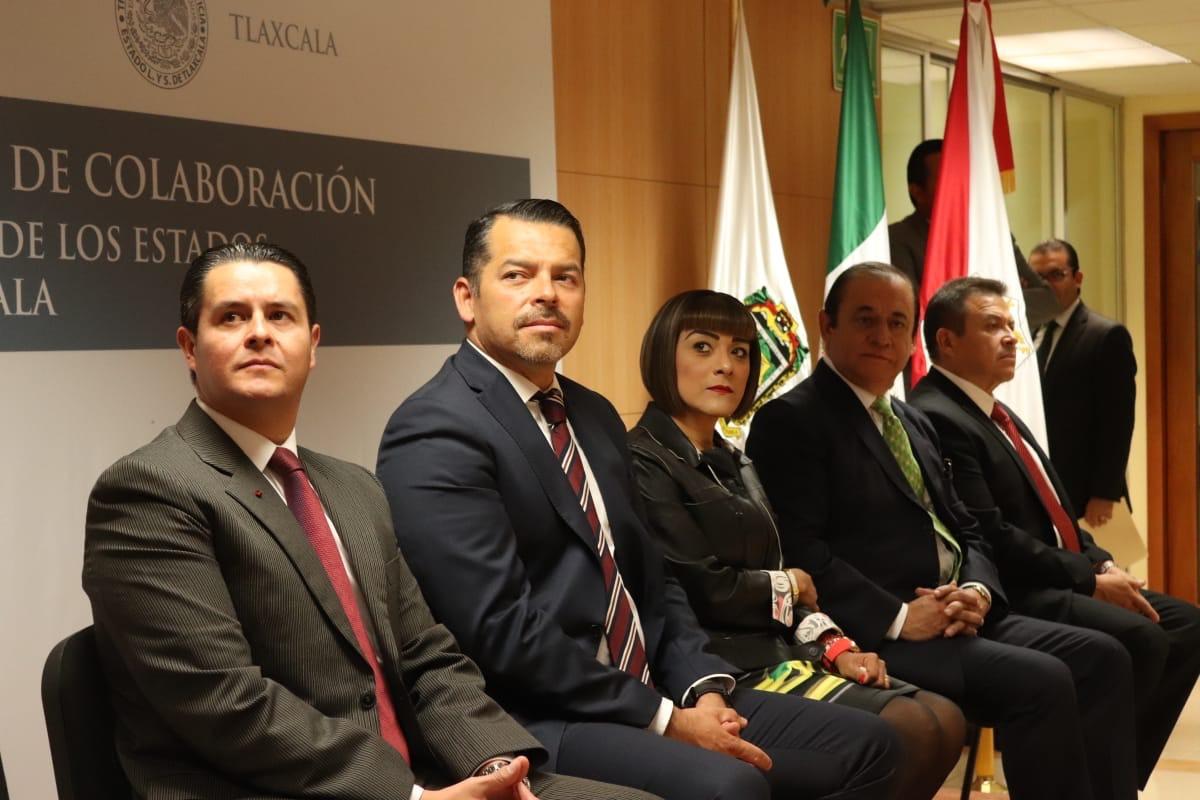 Firman convenio de colaboración Poderes Judiciales de Puebla y Tlaxcala
