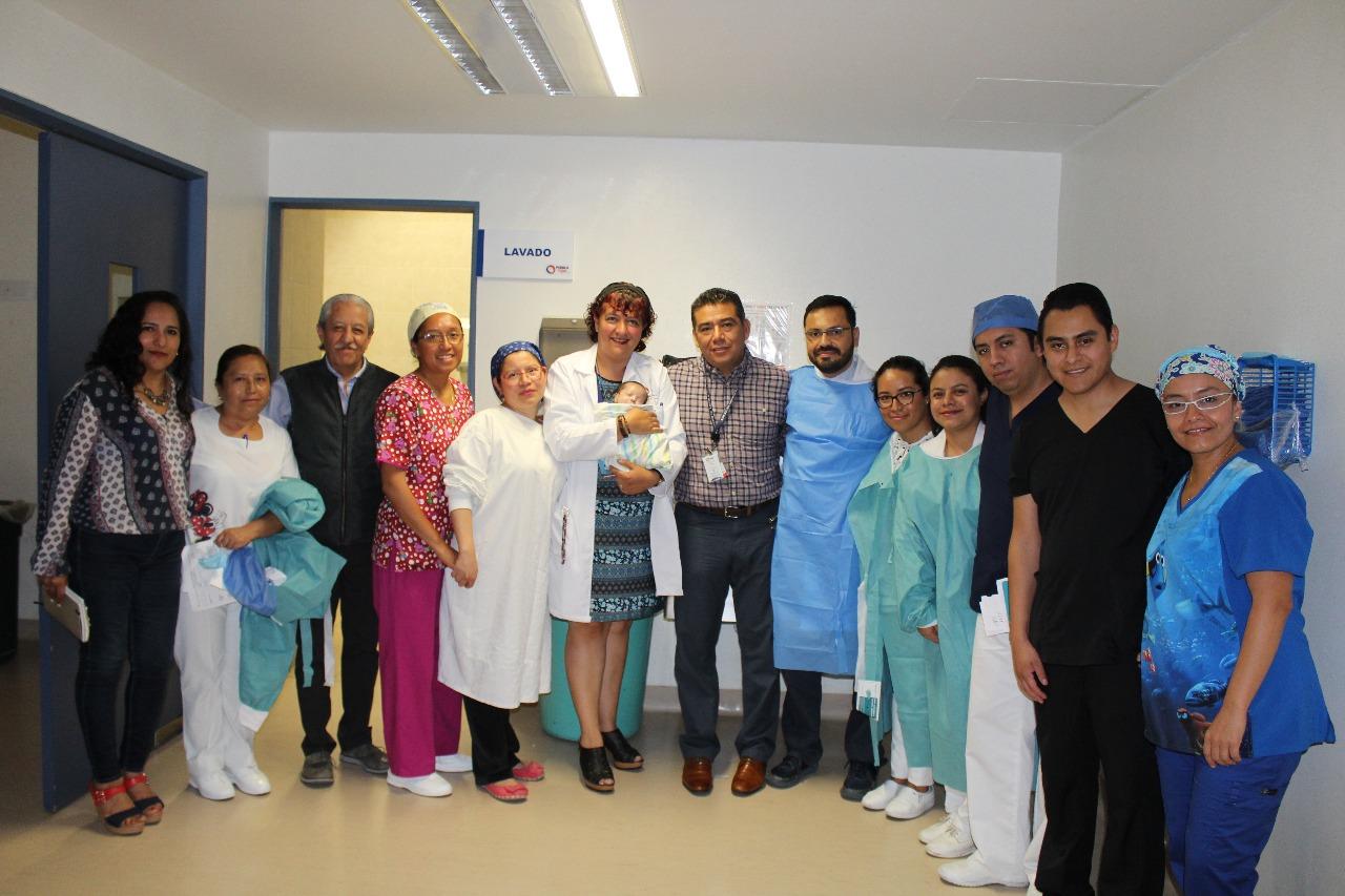 Realiza ISSSTEP exitosa operación cardíaca en recién nacido