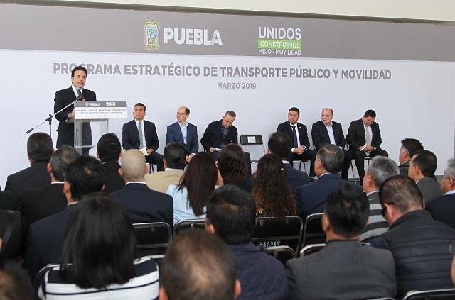 SIMT inicia acciones del plan de transporte público y movilidad