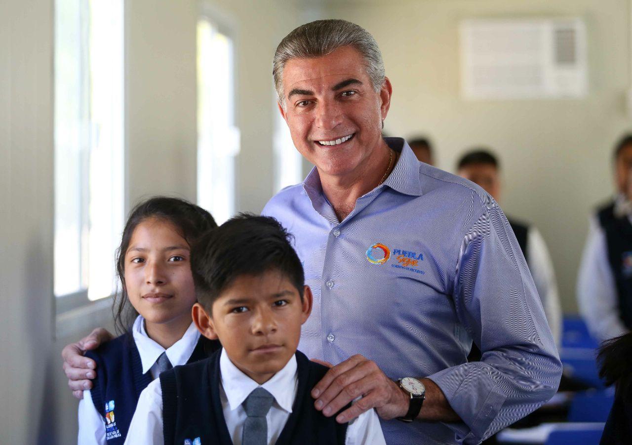 Inicia Gali reconstrucción de escuelas en Santa Isabel Cholula