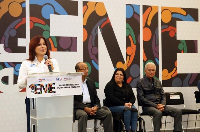 Inauguran SEDIF y SEP Encuentro nacional de inclusión educativa