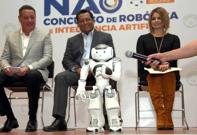 Puebla, sede del concurso de Robótica NAO 2018