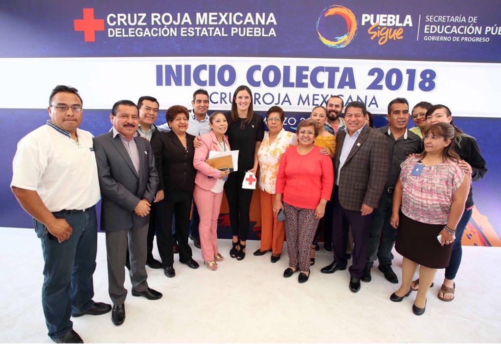 SEP se suma a la Colecta Nacional  2018 de la Cruz Roja Mexicana