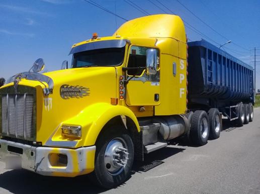 Policía Estatal recuperó seis vehículos y dos unidades de carga