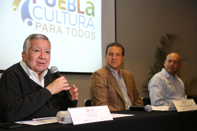 Presentan en Puebla el programa Cultura para todos