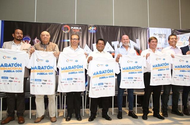 Presenta titular de la SEP el Maratón Internacional Puebla 2018