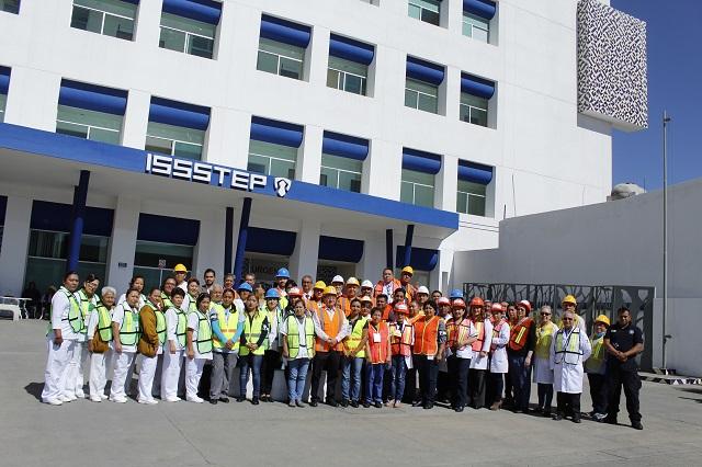 En informe, ISSSTEP destaca trasplantes y certificaciones