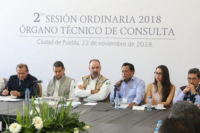 Alberga Puebla sesión del Órgano Técnico de Consulta del INIFED