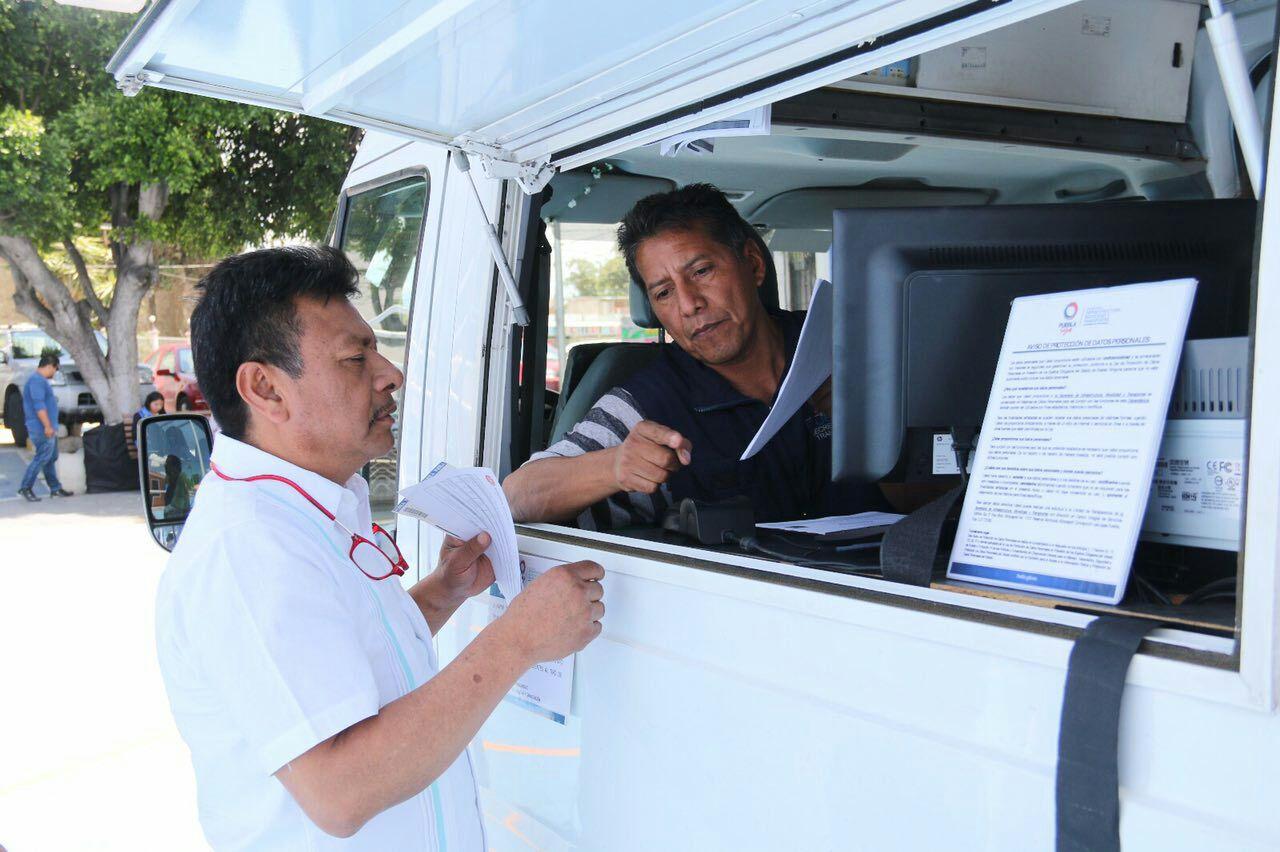 Unidades móviles de expedición   de licencias estarán en 7 municipios
