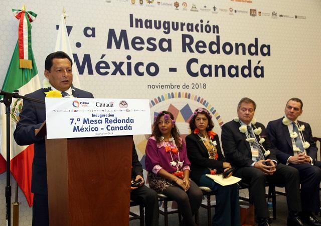 Puebla y Canadá colaboran por la educación intercultural