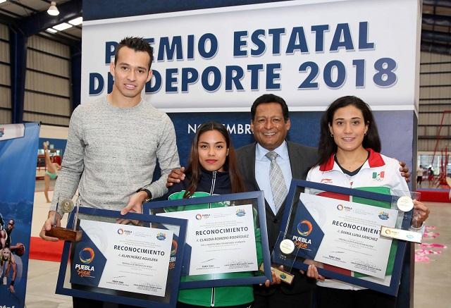 Entrega gobierno de Tony Gali Premio estatal del deporte 2018