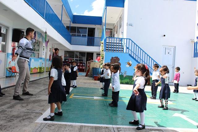 Regresan a clases 256 niños de estancias infantiles del ISSSTEP