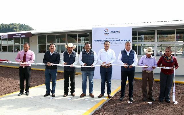 Inaugura gobierno de Tony Gali escuela primaria en Tochimilco