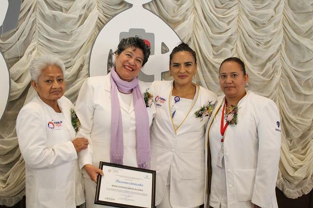 ISSSTEP celebra el día nacional de la enfermera y el enfermero