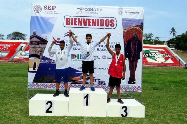 Obtiene Puebla su primer oro en los Juegos Deportivos Nacionales