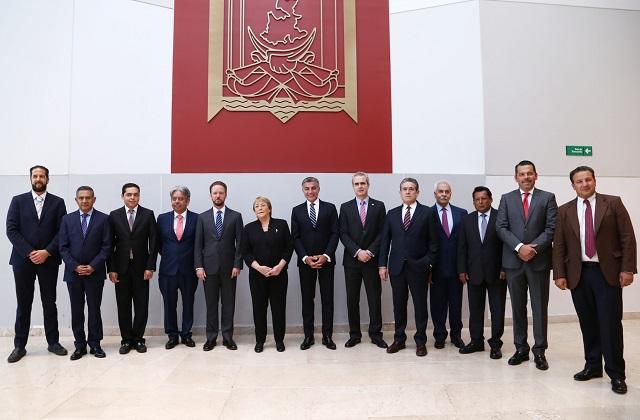 Gali y Bachelet coinciden en visión de fortalecimiento democrático en AL