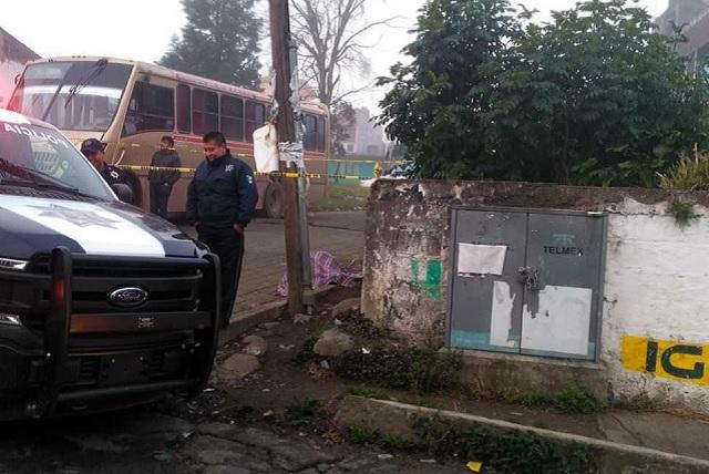 Matan a supuesto empleado de Pemex en Huauchinango
