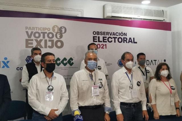 Exige IP frenar violencia y garantizar el cierre de las casillas en Puebla