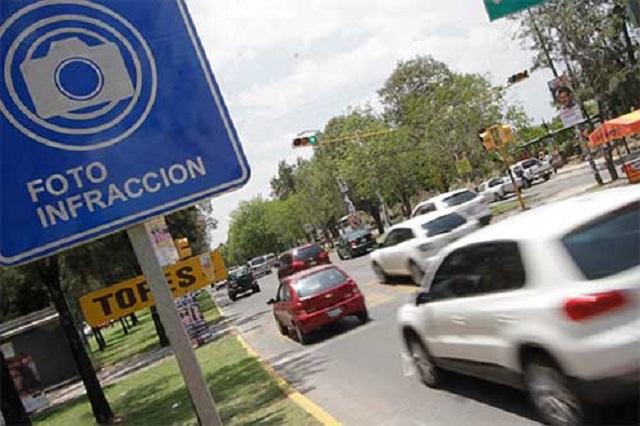 Para variar, no funciona la plataforma de las fotomultas en Puebla