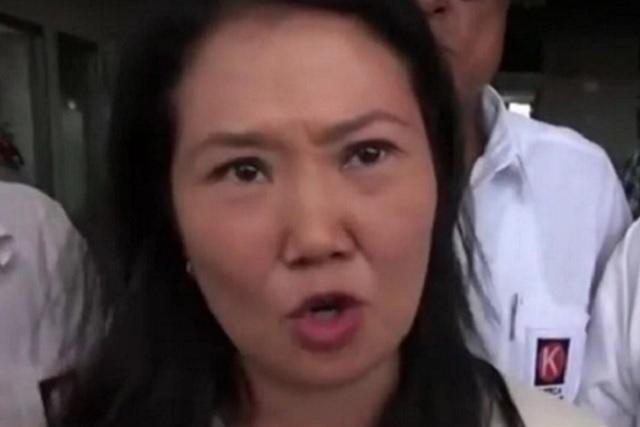 Capturan en Perú a Keiko Fujimori por lavado de dinero