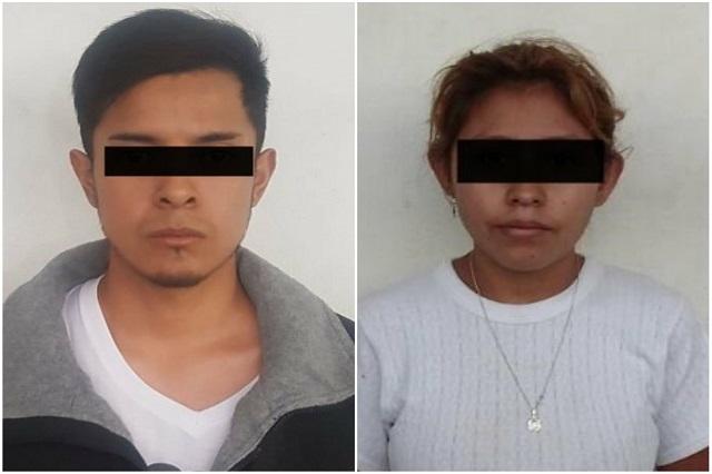 Detienen a dos en Puebla por presuntamente convocar a saqueos