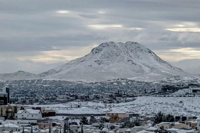 Así luce el norte del país con impactantes nevadas