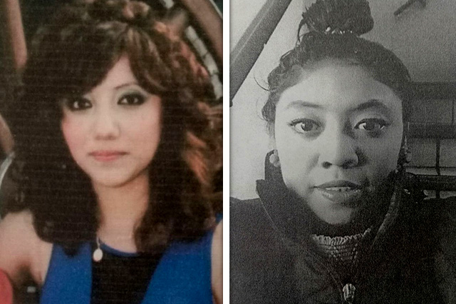 Pide Fiscalía ayuda para localizar a dos mujeres desaparecidas