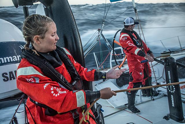 La Volvo Ocean Race. La igualdad de sexo en alta mar