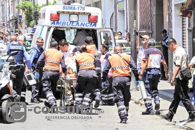 Narcos ejecutan a un hombre en pleno centro de Puebla